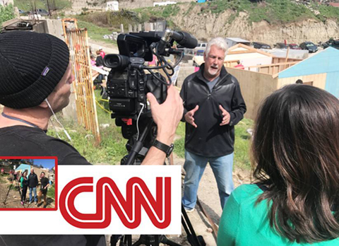 President of Homes of Hope Int'l. filmed on-location by CNN for their special series Impact Your World